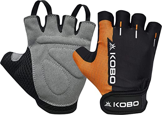 Kobo WTG-27 Weight Lifting Gym Gloves Hand Protector for Fitness Training