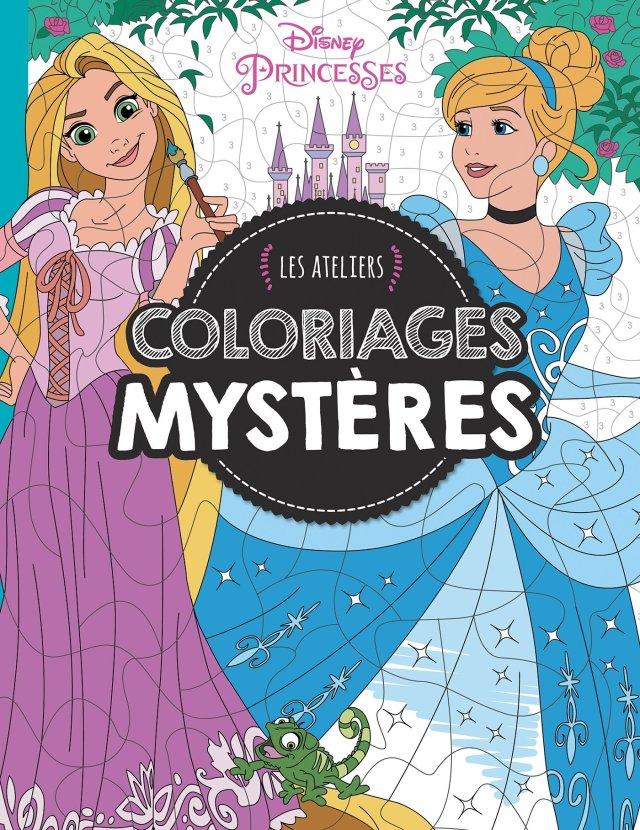 Princesses , MES ATELIERS DISNEY - COLORIAGES MYSTERE: Amazon.de