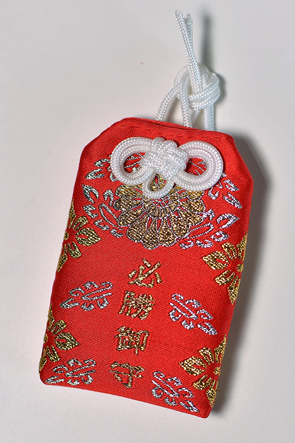 Amazon Com Japanese Omamori 10 Styles Of Good Luck Charms For Health Career Education Love Safety Wealth Academic Success Red Kitchen Dining