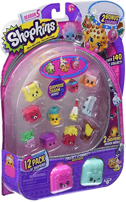 Amazon Com Shopkins Season 5 12 Pack Toys Games