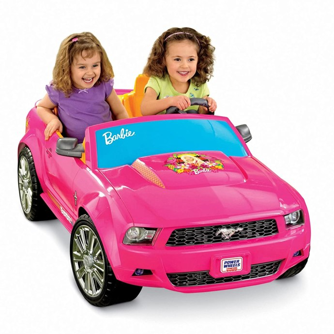Power Wheels Barbie Themed Pink Ford Mustang
