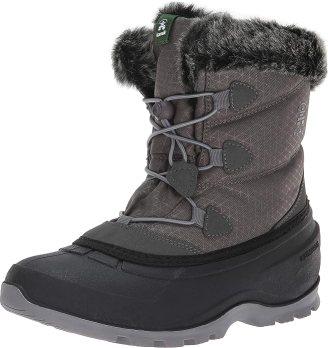 Kamik Women's Momentum LO Boots, Charcoal, 8 M US
