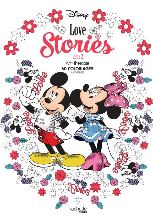 Disney Love stories tome 30: 30 coloriages anti-stress : Bertrand