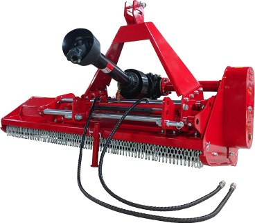 best flail mower for tractor - Titan