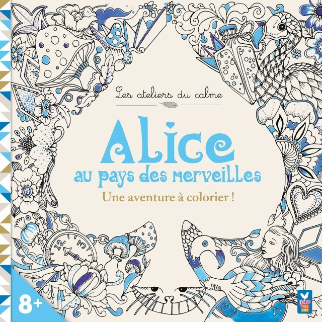 Amazon.fr - Alice au pays des Merveilles - une aventure à colorier