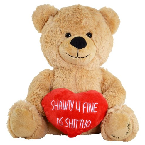 This funny teddy bear is such a unique Valentine's Day gift for her!