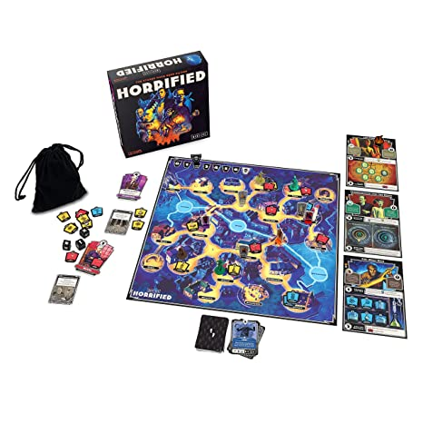 Image result for horrified board game