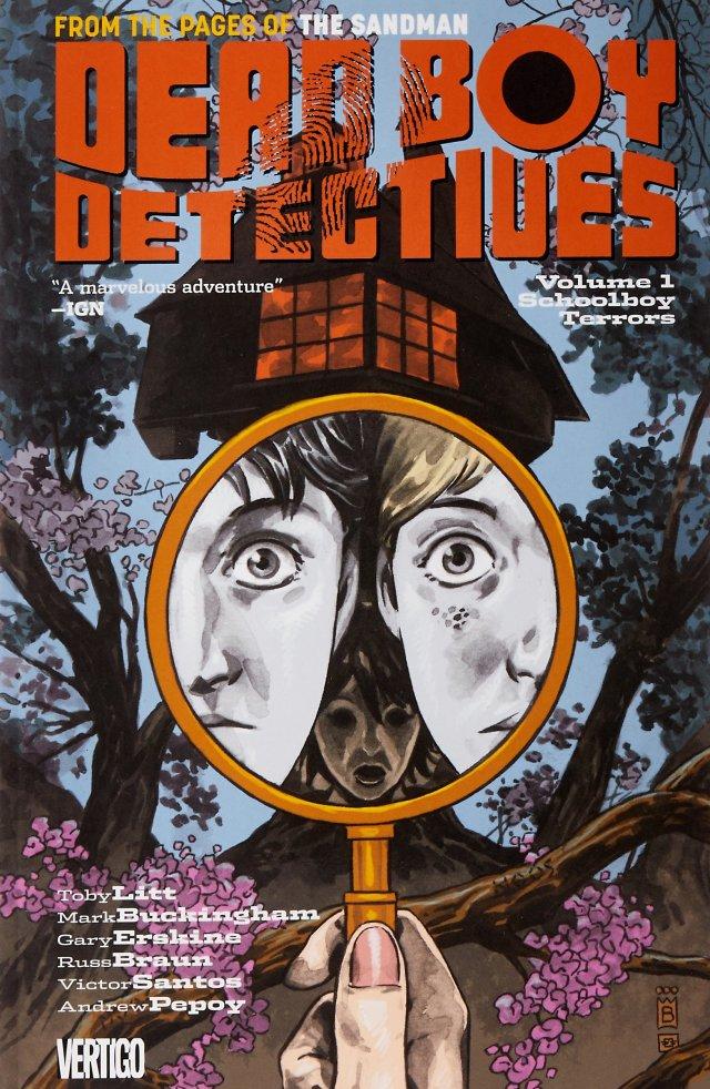 Dead Boy Detectives, Volume 1: Schoolboy Terrors   Amazon.com.br