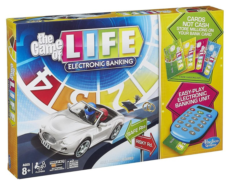 Hasbro Game Of Life Electronic Banking Rules Gamesall