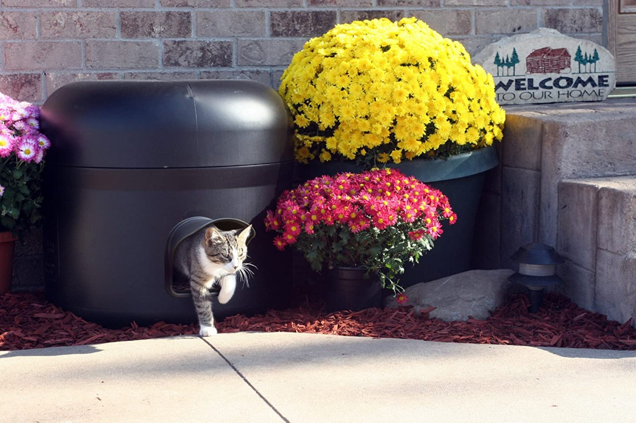 Casas para gatos de exterior