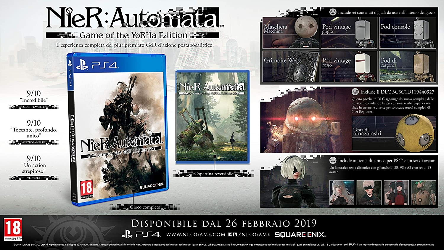 NieR Automata Game-of year-Ps4