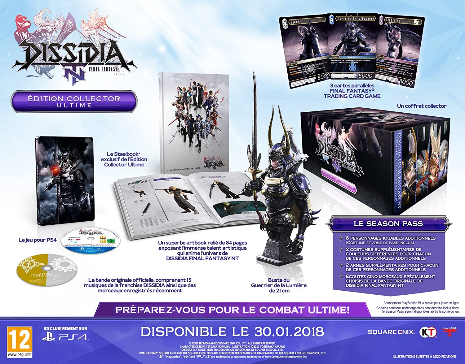 Dissidia: Final Fantasy NT - Edition Collector Ultime
