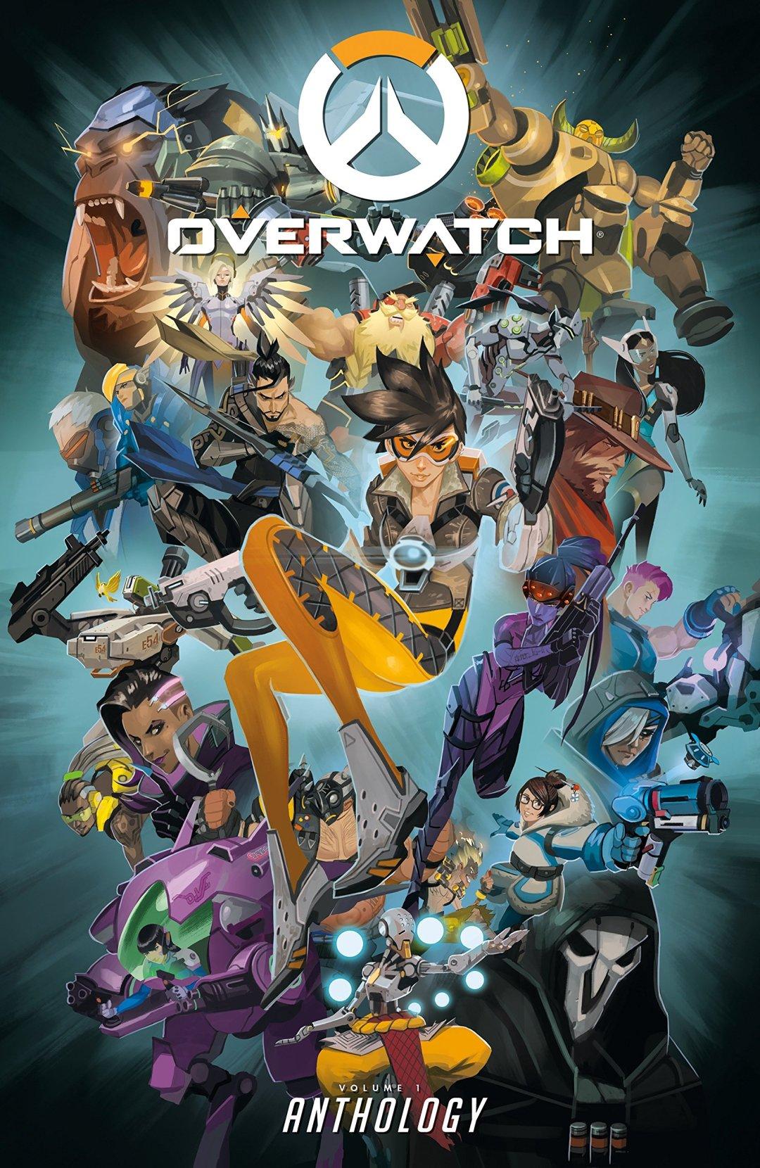 Amazon.com: Overwatch: Anthology (9781506705408): BLIZZARD ENTERTAINMENT, Burns, Matt, Brooks, Roberts, Robinson, Andrew, Neilson, Micky: Books