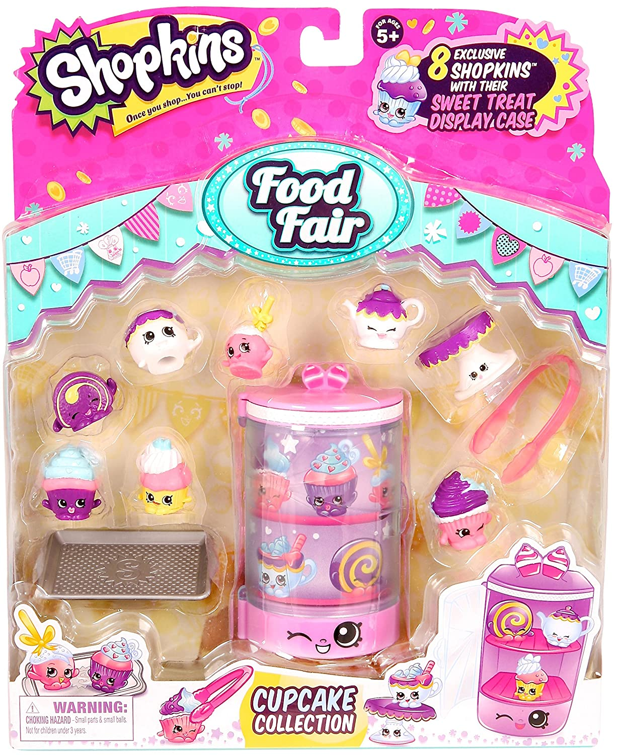 Shopkins Season 3 Food Fair Pack - Cupcake Collection