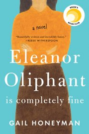 Image result for eleanor oliphant is completely fine book cover