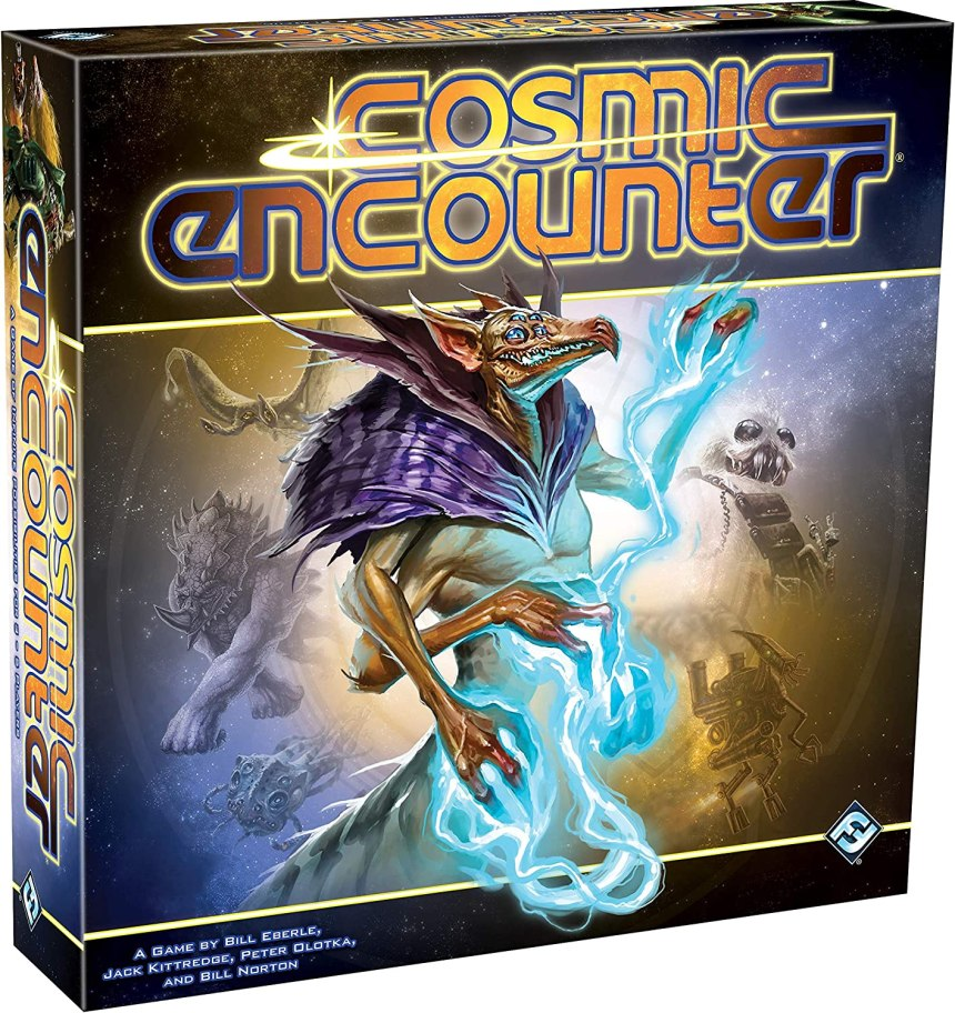 Amazon.com: Fantasy Flight Games CE01 Cosmic Encounter, Multicolor -  Packaging may vary: Eberle, Bill, Kittredge, Jack, Olotka, Peter, Norton,  Bill, Fantasy Flight Games: Toys & Games