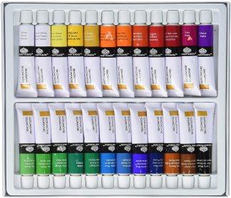 Royal & Langnickel GOU24 Gouache Color Artist Tube Paint