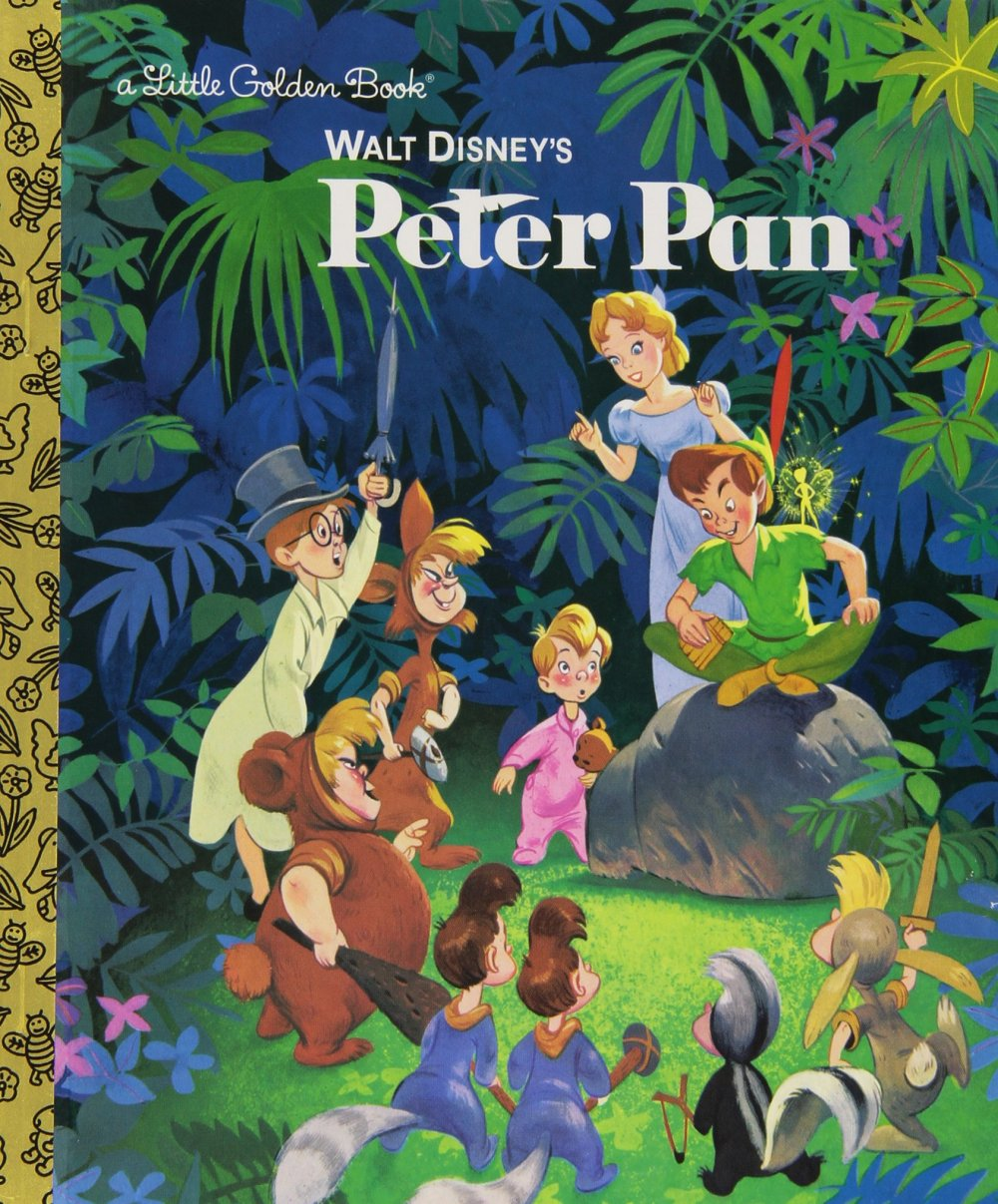 Walt Disney's Peter Pan (Disney Peter Pan) (Little Golden Book)