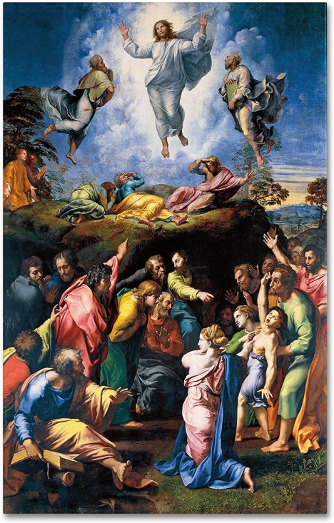 Amazon.com: The Transfiguration 1519-20 Artwork by Raphael, 22 by ...