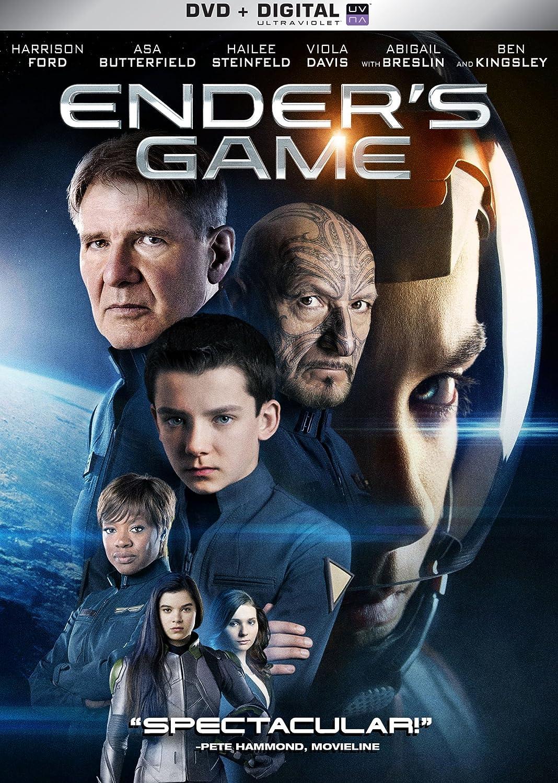 Amazon.com: Ender's Game [DVD + Digital]: Harrison Ford, Abigail Breslin,  Gavin Hood: Movies & TV