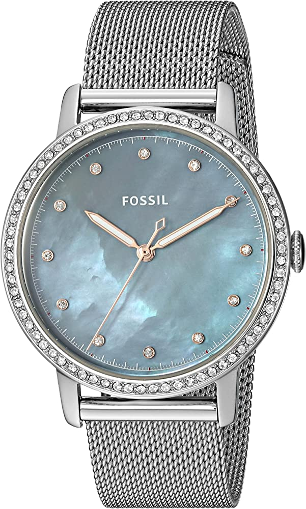 Fossil Women's Analogue Quartz Watch with Stainless Steel Strap ES4313