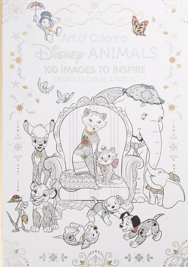 Art of Coloring: Disney Animals: 29 Images to Inspire Creativity