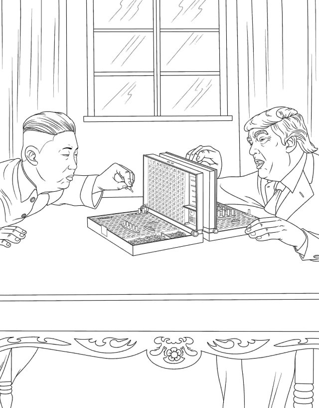 Amazon.com: The Trump Coloring Book: 15: Anthony, M. G.