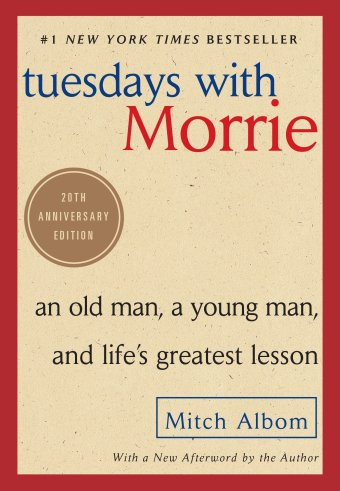 Cover of Tuesdays with Morrie by Mitch Albom