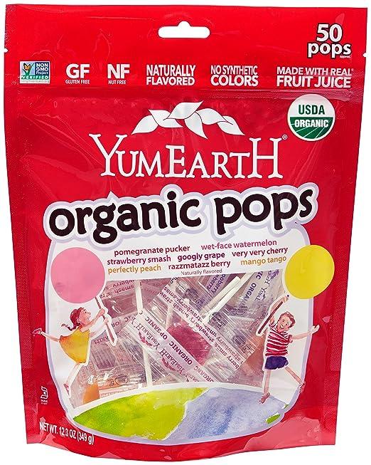 Yum Earth Organic Lollipops