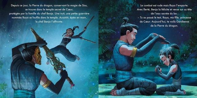 Amazon.fr - RAYA ET LE DERNIER DRAGON - Monde Enchanté - L