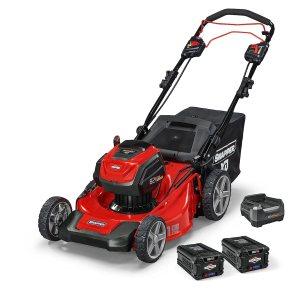 best electric start self-propelled lawn mower - Snapper