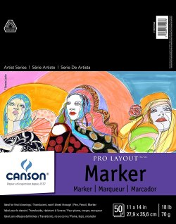 Canson Artist Series Pro Layout Marker Pad