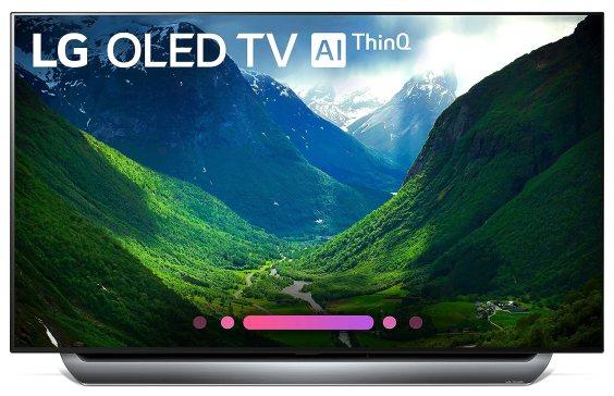 LG OLED55C8PUA 55-Inch 4K Ultra HD Smart OLED TV Black Friday Deals 2019