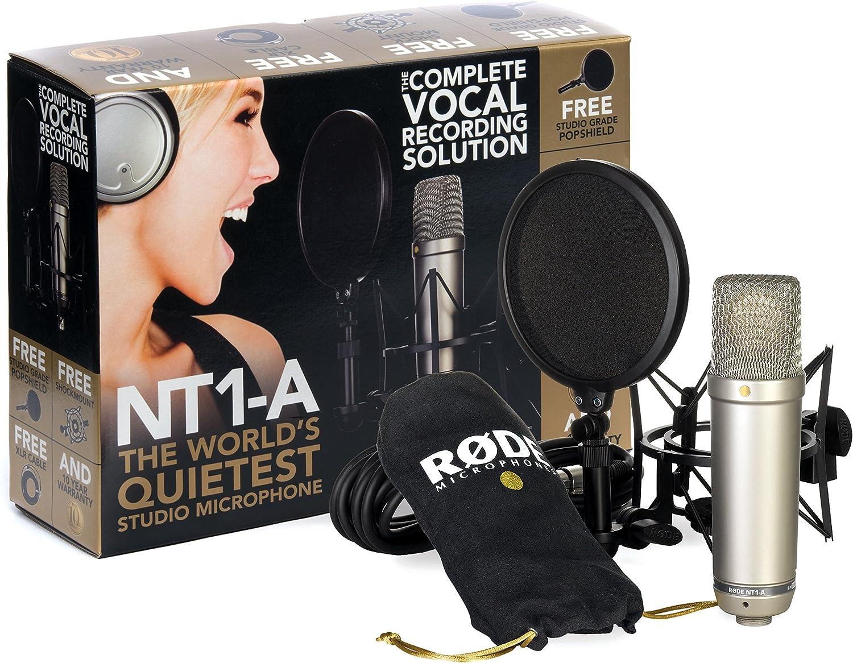 RODE NT1A Microfono a diaframma largo per studi di registrazione / podcast