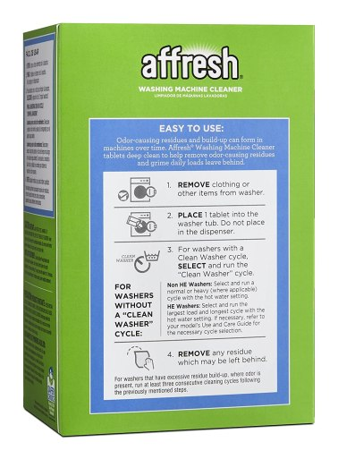Affresh Washer Machine Cleaner review
