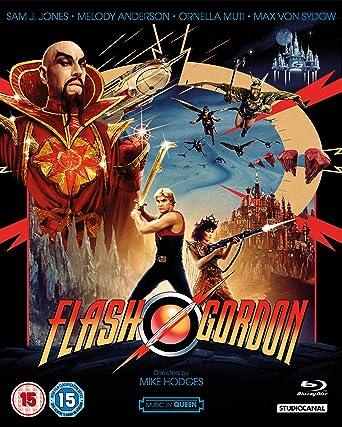 Flash Gordon 40th Anniversary Edition Blu-ray 2020: Amazon.co.uk: Sam J.  Jones, Melody Anderson, Max Von Sydow, Topol, Ornella Muti, Mike Hodges,  Sam J. Jones, Melody Anderson: DVD & Blu-ray