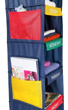 hanging clothes organizer for kids