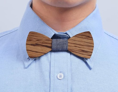 Bizarre Weird Crazy Stuff They Sell On Amazon wooden bow tie