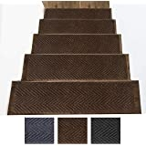 Amazon Com Rubber Cal Coin Grip Non Slip Rubber Tread Stair | Half Moon Carpet For Stairs | True Bullnose | Stair Tread | Stain | Stair Nosing | Runner Rugs