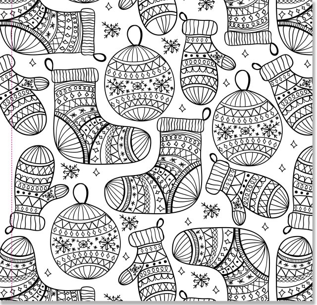 Amazon.com: Christmas Designs Adult Coloring Book (30 stress