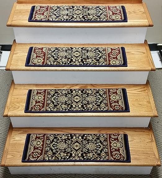 Amazon Com Rug Depot 149299 Traditional Oriental Non Slip Carpet | Oriental Carpet Stair Treads | Non Skid | Kings Court | Carpet Runners | Amazon | Stair Runner