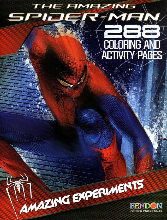 The Amazing Spiderman 24 Coloring and Activity Pages: Marvel