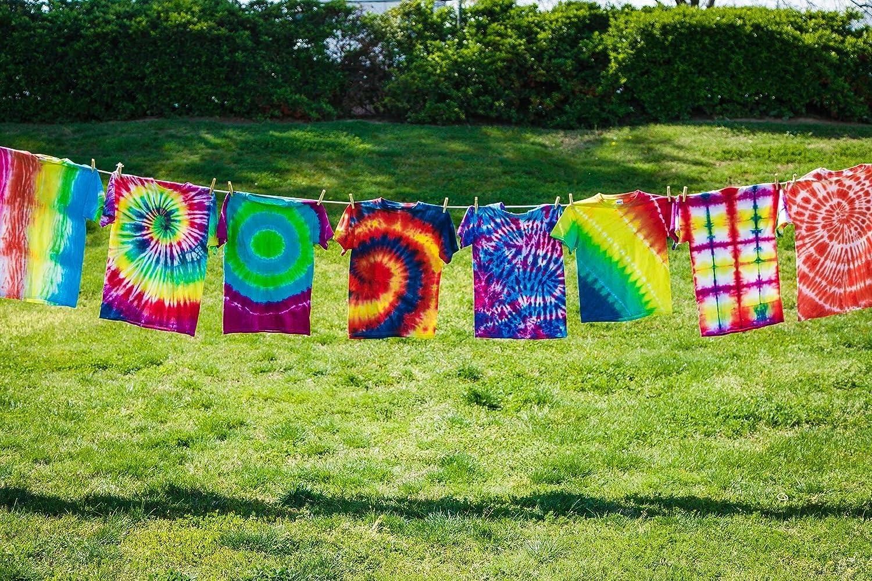 flourish - tie dye