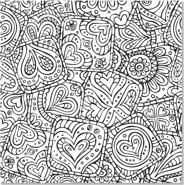 Amazon.com: Doodle Designs Adult Coloring Book (20 stress
