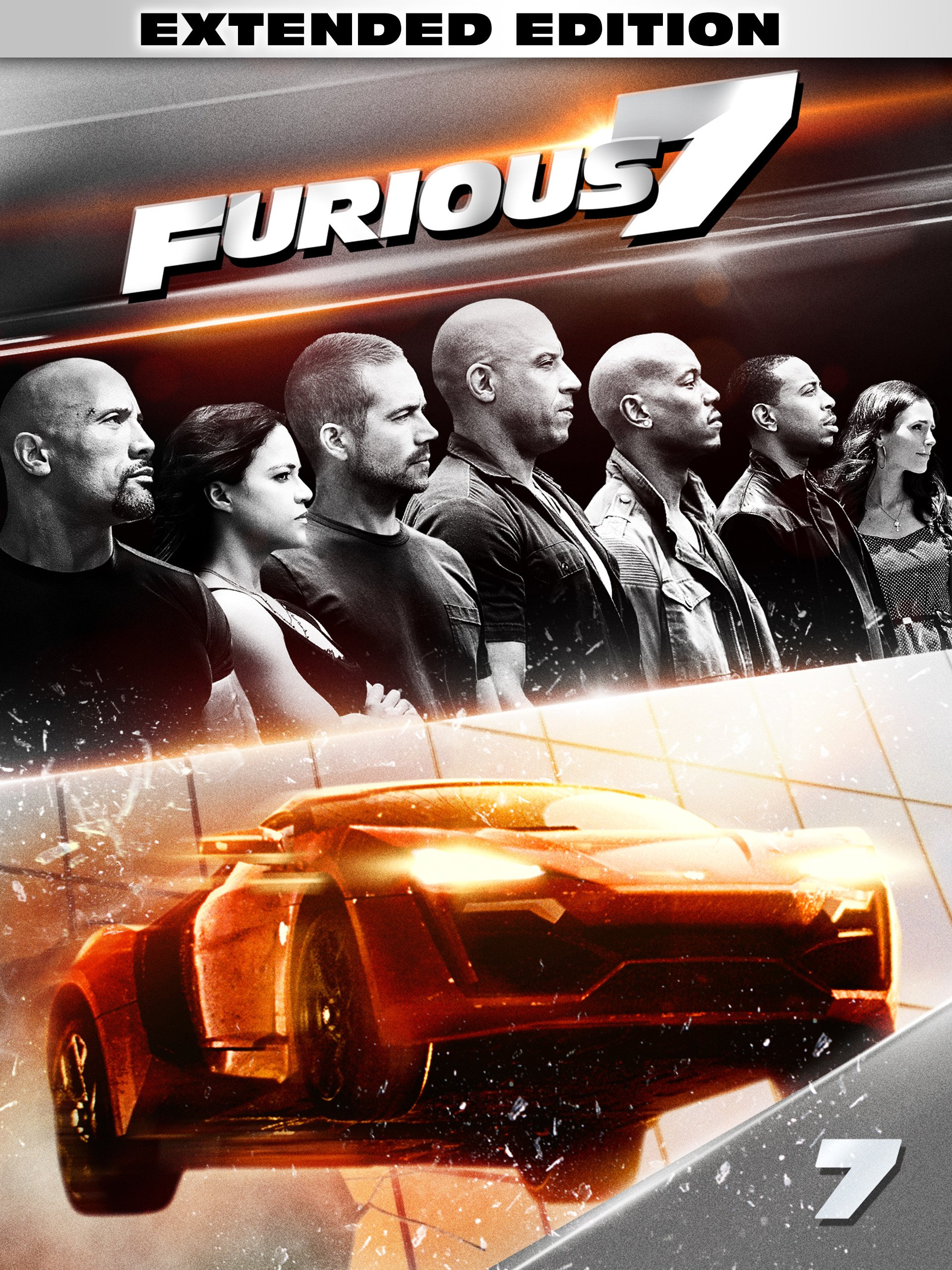 Amazoncom Watch Furious 7 Extended Edition Prime Video