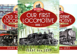 Great Railroad Series (3 Book Series) by  ben Levi, Isaac