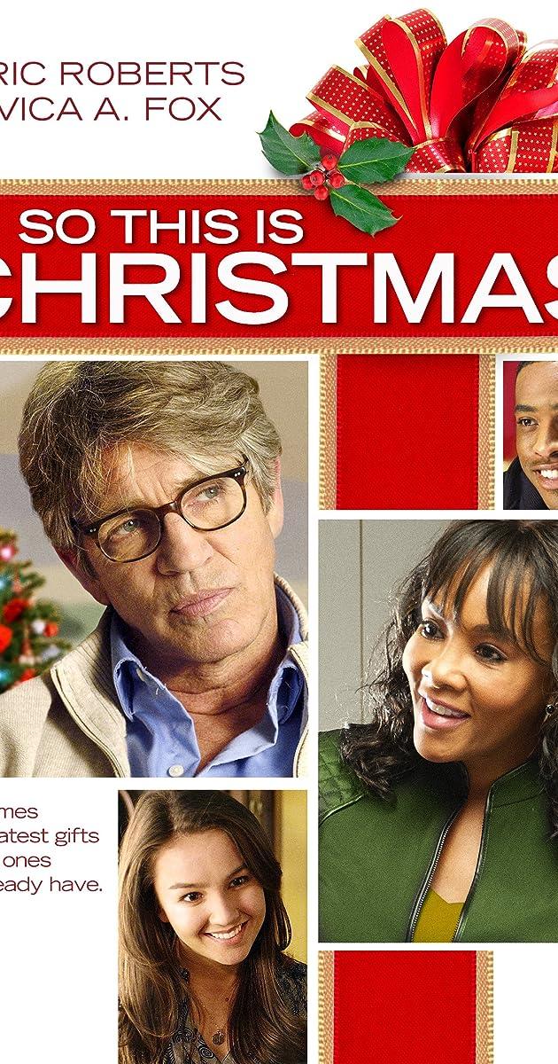 Resultado de imagen para So This Is Christmas (2013)