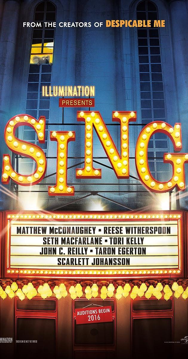 Resultado de imagen para Sing (2016