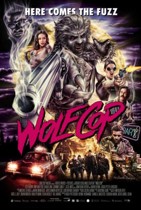Jonathan Cherry and Leo Fafard in WolfCop (2014)