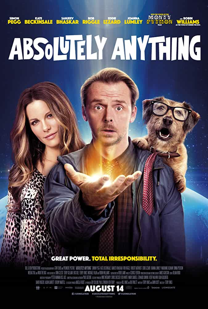 Absolutely Anything Trailer Featuring Simon Pegg